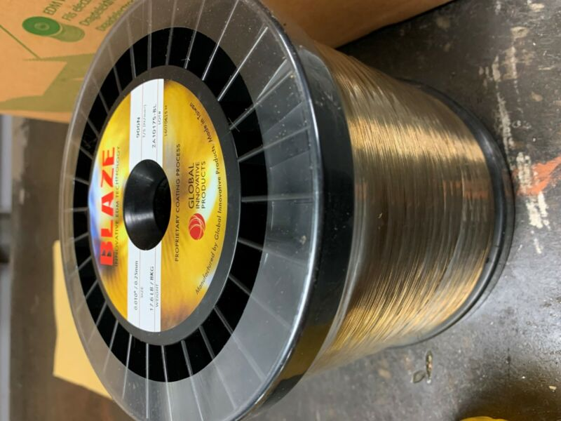 "Blaze Innovative EDM Technologies - ø.010"" / ø0.25mm brass EDM wire - 17.6lbs"