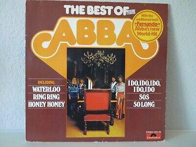 Abba - The Best Of Abba Vinyl Lp Record Album - Polydor 2459 318