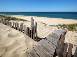 BEACH SEASIDE seascape  canvas picture print big 20