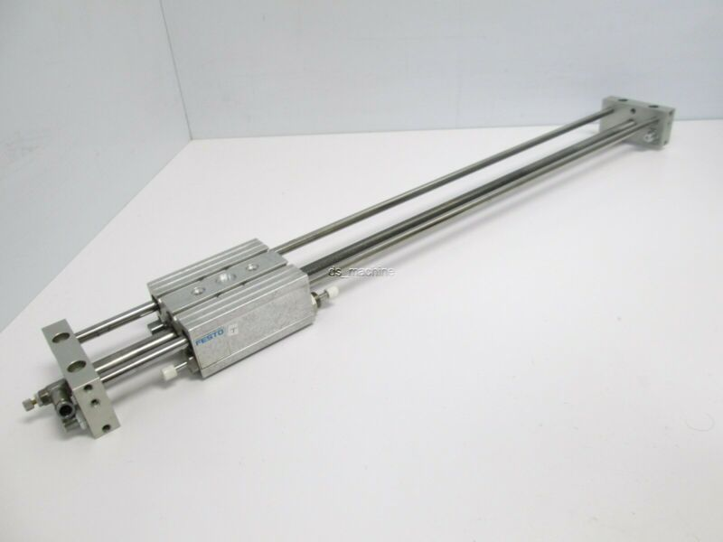 "Festo SLM-12-458-KF-A-G-CV Pneumatic Linear Slide, 12mm Bore, 458mm (18"") Stroke"