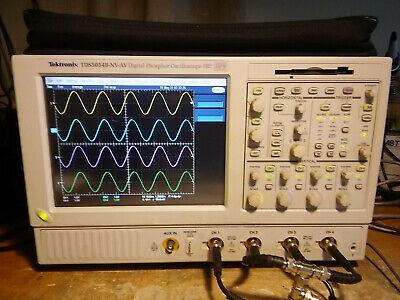 Tektronix Tds5054b 500mhz 5gss Oscilloscope 3m Can Lin Sm Usb Pwr Jit 18 Ssd