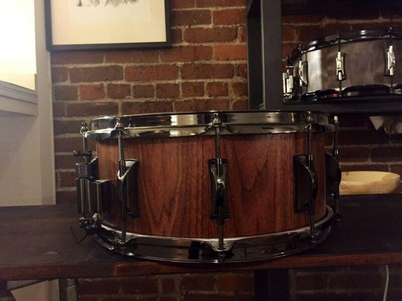 Custom 14x6.5 Walnut Stave Snare (Dignity Drum)