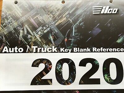 Key Blank Catalog  Ilco Autotruck 2020 Free With Min Purchase Free Sh