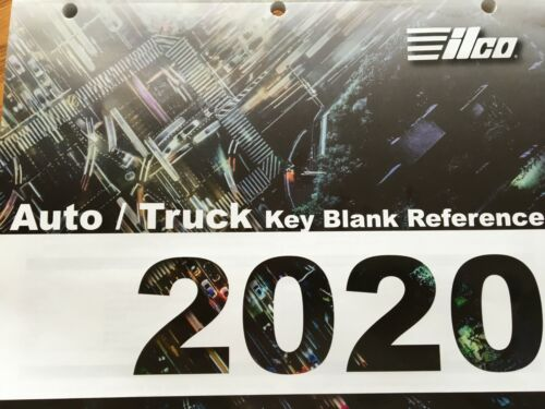 KEY BLANK CATALOG /  ILCO AUTO/TRUCK 2020 / FREE WITH MIN PURCHASE / FREE S/H