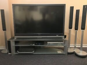 """Sony 55"""" LCD TV Model KDF-55E2000 with surround sound"""