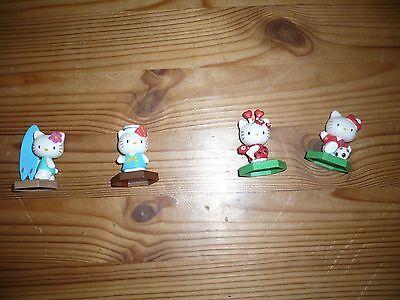 Hello Kitty  Figuren aus der  Collection 8 / Mehrfach  4 verschiedene