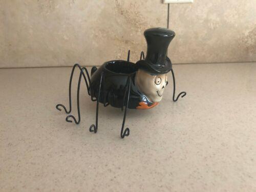 Yankee Candle Boney Bunch Spider Top Hat 2010 Tea Light Halloween