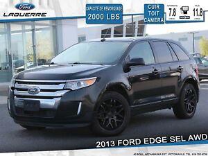 2013 Ford Edge SEL AWD**CUIR*TOIT*CAMERA*BLUETOOTH*AC*