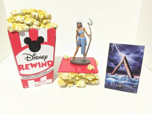 Princess Kida Atlantis Disney Store Rewind Mystery Figure Popcorn Box & Art Card