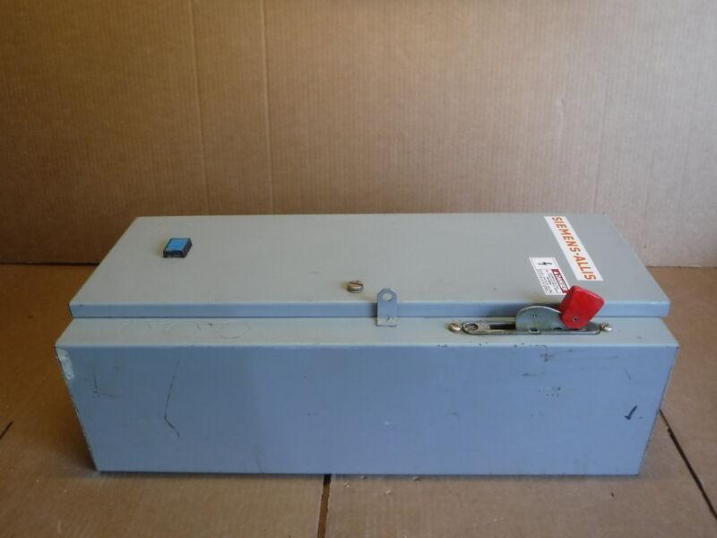 Siemens-allis Scn0115 Modified Scn01cwcs1 Enclosure Commercial Industrial