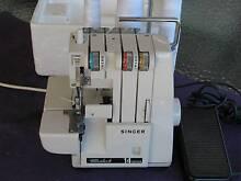 SINGER 14U52a Overlocker Sewing Machine Ex Cond.Serviced & Tested Kotara Newcastle Area Preview