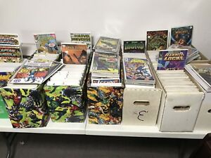 Comics for sale.