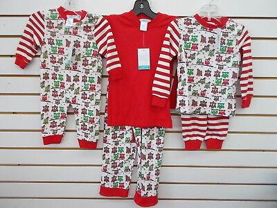 Infant & Boys Gabiano Assorted Holiday Owl Pajamas Size 3 Months - 10 ()