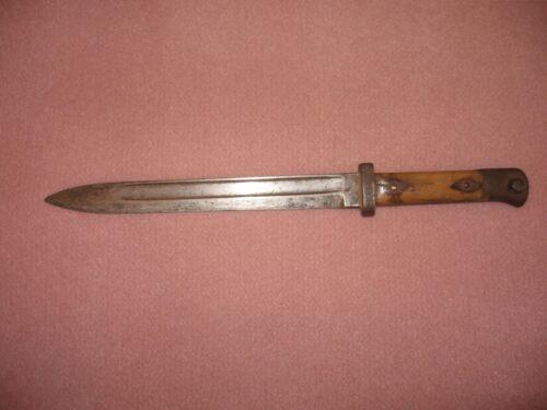 Austrian bayonet WW I - WWII for 1895 Mannlicher M95  OEWG. No scabbard or ring