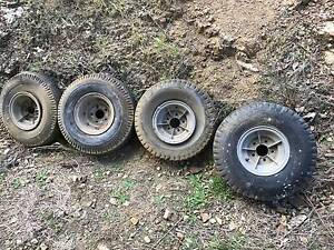 6.00 x 9inch alloy boat trailer wheels Allens Rivulet Kingborough Area Preview