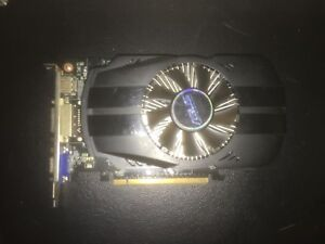 GTX 750 Graphics Card/Carte graphique