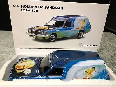 1:18 Holden HZ Sandman Seawitch with Surfboards *RARE* AUTOart BNIB COA