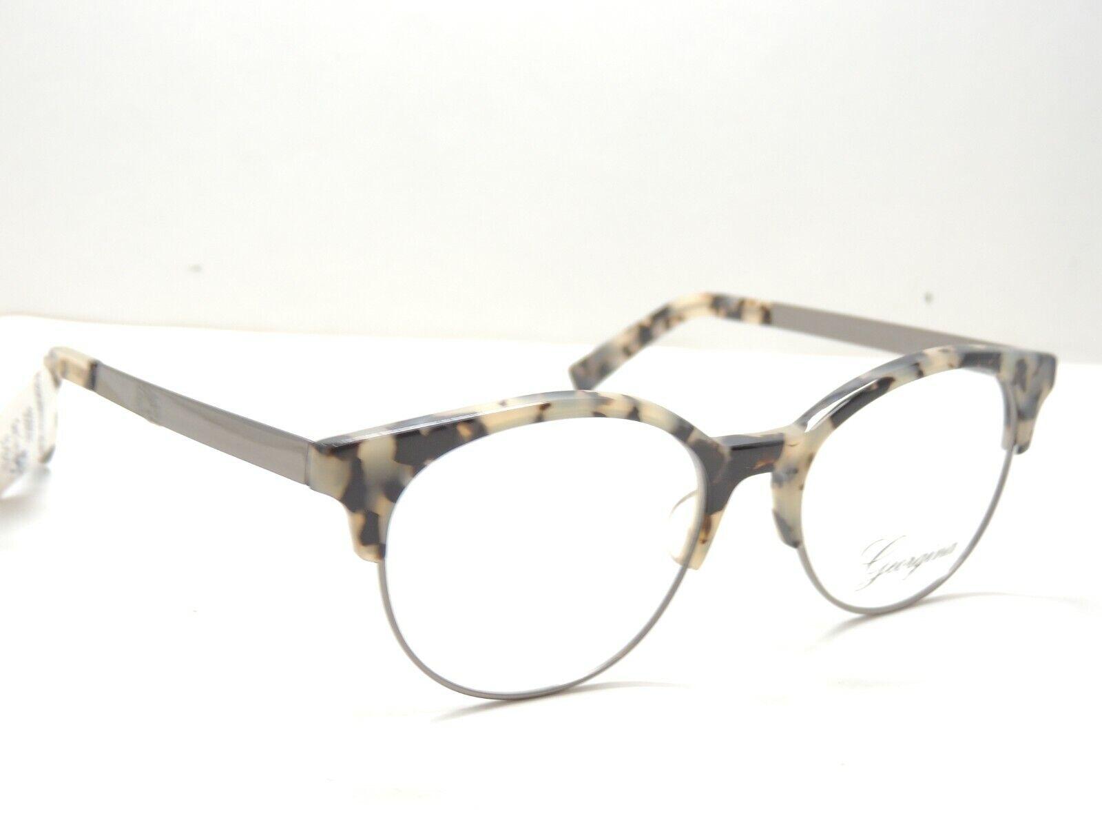 Georgina 705 Gun Tortoise Prescription Eyeglasses Frames 51
