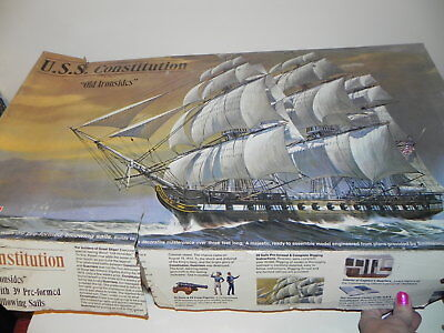 Pre-Owned The USS Constitution Old Irionsides H-398 1969 LARGE SHIP