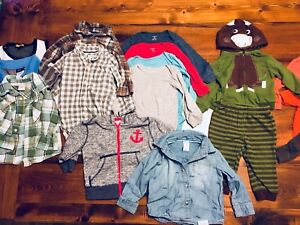 Selling Lot of 32 Items For Baby Boy 12-18 Months