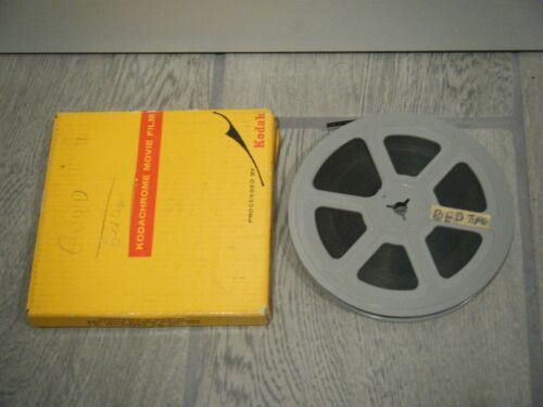 """Vintage 8mm Adult Film Stag Bedtime Girl 5"""" Reel Movie B&W 1950s"""