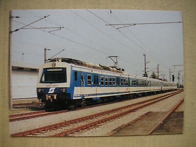 3023 Postkarte ÖBB 4020.091-7 Wolkersdorf 1988