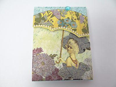 93878 Ps Llc Culver City Ca China Magnetic Flap Small Lady Umbrella Notepad Pad