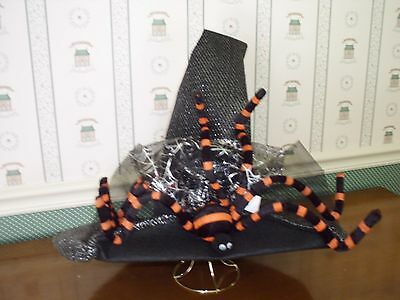 """CARSONS HALLOWEEN 18"""" BLACK WITCH HAT-NEW-AS SHOWN-2015"""