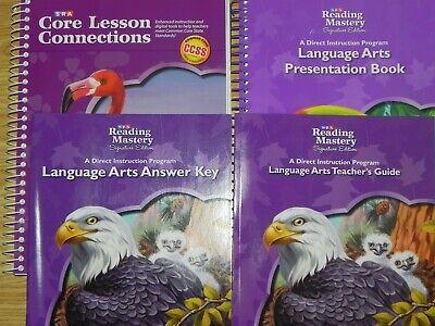 g Mastery Language Arts 4 Books Presentation, Answer Key... (4th Grade Language Arts)