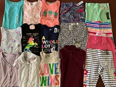 Girls Huge Size 10-12  BACK TO SCHOOL Clothing LOT Old Navy Justice TCP  ALL NEW