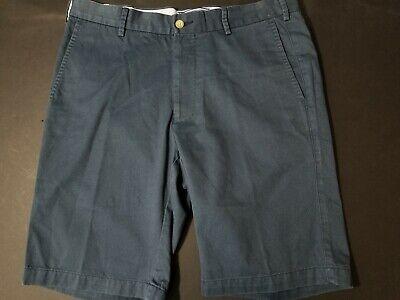 Peter Millar Pima Cotton Contemporary Fit Shorts - 34 - Navy - Retail $85 - -