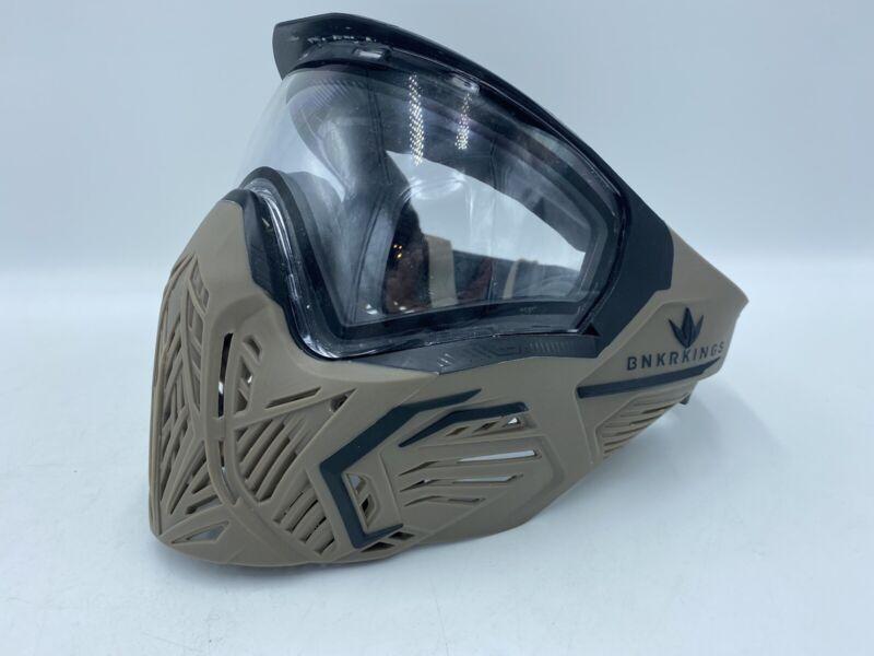 Bunker Kings Paintball CMD Mask - Sherwood Gunner - Used