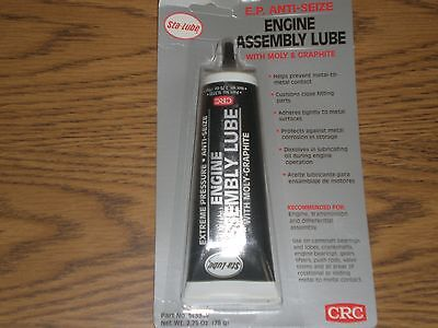 CRC Sta-Lube Extreme Pressure Engine Assembly Lube, 2.75 Ounces (Crc Engine)