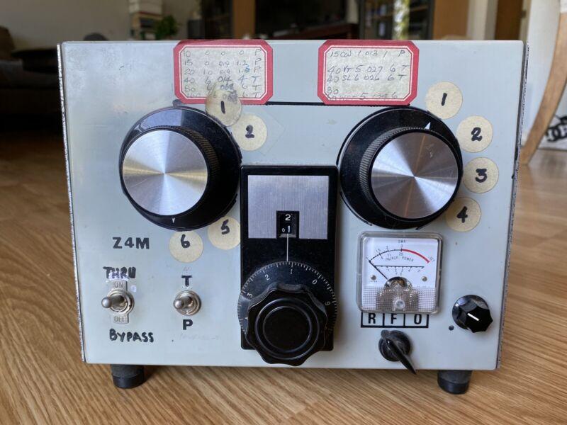 Homebrew Antenna Tuner Z Match