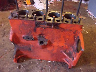 Case Vac Tractor Original Engine Motor Block Cast Vt328  Head Bolts