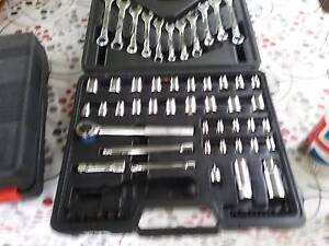 Set of spanners a sockets Stafford Heights Brisbane North West Preview