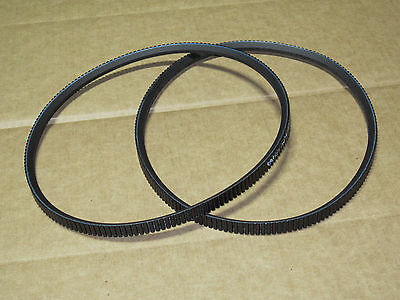 2 Gates Pto Belts For Ih International 154 Cub Lo-boy 185