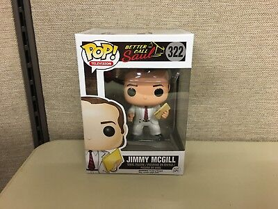 Funko Pop! Television: Better Call Saul Jimmy McGill #322 w Clear Case