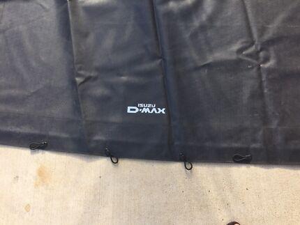 Tonneau Cover, suit Dmax dual cab