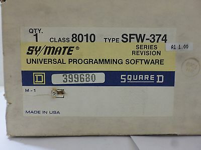 New Surplus Square D 8010 Swf-374 Symate Series Revision
