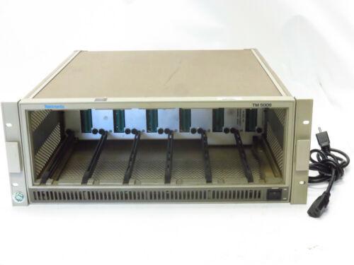 Tektronix TM5006 Six Bay Mainframe Unit for 500-Series Plug-Ins