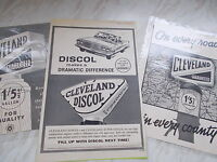 3 Old Cleveland Paper Adverts - 2 From The 1930's & 1 From 1963 -  - ebay.co.uk