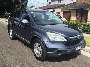 2007 Honda CR-V Wagon Gladesville Ryde Area Preview