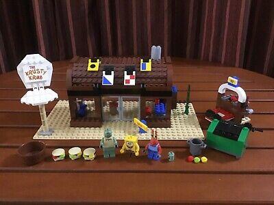 LEGO 3825 - SpongeBob Squarepants - Krusty Krab - 2006 - 100% complete - NO BOX