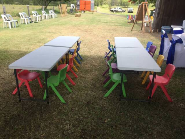 Terrific Children39S Table Chair Hire Party Hire Gumtree Interior Design Ideas Pimpapslepicentreinfo