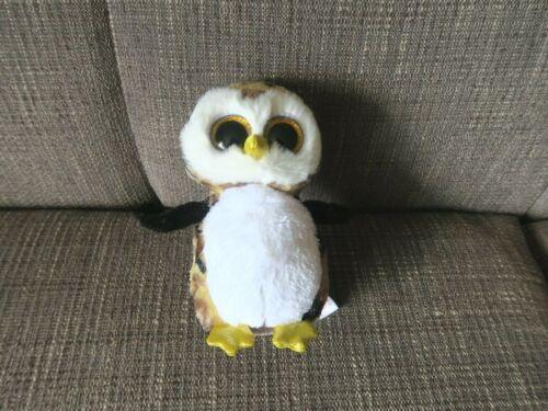 "Ty Beanie Boos OWLIVER the Owl  6"" Plush"