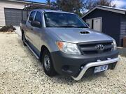 TOYOTA HILUX SR D4 TURBO DIESEL TWIN CAB MANUAL Sorell Sorell Area Preview