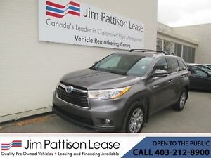 2015 Toyota Highlander Hybrid 3.5L AWD LE 7 Pass. w/Bluetooth &