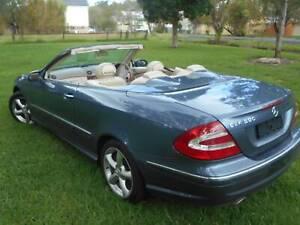 2004 Mercedes-Benz CLK500 Coupe