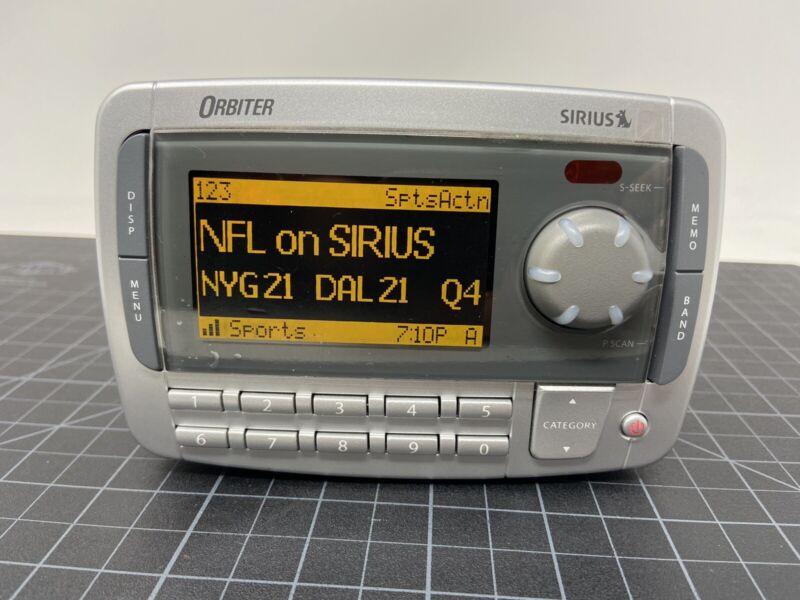 Sirius Orbiter SR4000 Satellite Radio Receiver XM